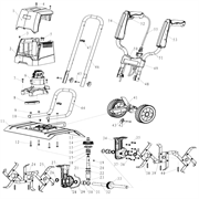 Храповик шкива редуктора культиватора DDE ET-1200-40 (рис. 16)
