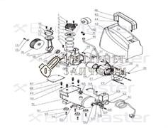 Держатель мотора компрессора BAUMASTER AC-9406LX-29