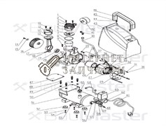 Головка цилиндра компрессора BAUMASTER AC-9406LX-4
