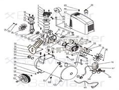 Картер двигателя  компрессора BAUMASTER AC-9424LX-23