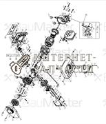 Картер двигателя правый генератора BauMaster PG-8709X-2