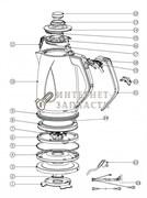 Корпус в сборе с крышкой чайника Galaxy GL0201