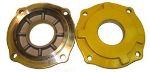 Крышка корпуса редуктора левая виброплиты Masalta MS60