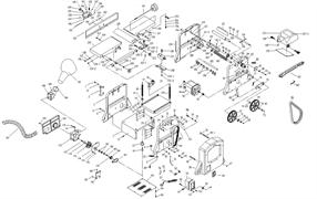 Панель нижняя станка комбинированного Энкор Корвет-26 (рис.193)