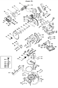Болт пилы торцовочно - усовочной Корвет 3Р (рис.110) - фото 20257