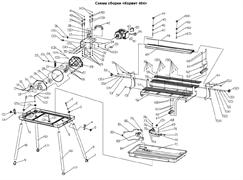 Электродвигатель плиткореза Энкор Корвет 464 (20464) (рис.42) - фото 20924