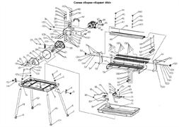 Упор регулируемый плиткореза Энкор Корвет 464 (94640) (рис.72) - фото 21139