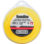 Леска Roundline D 2,4 мм L 15 м (круглая, желтая)