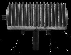 Коробка передач в сборе (правая)  двухроторной затирочной машины Tremmer CT836