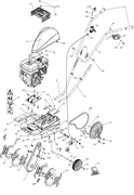 Направляющая приводного ремня культиватора Pubert MB 87 L (рис.26) - фото 307673