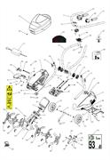Внешняя фреза культиватора Caiman TURBO 1000 (рис. 26) - фото 308004