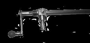 Рычаг регулировки подъема диска в сборе нарезчика швов Masalta MFS14-4 - фото 30881