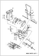 Вал колес виброплиты Masalta MS50-2 - фото 30965