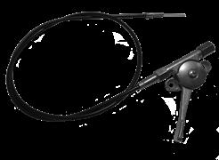Трос газа с рычагом виброплиты Masterpac PC3820 - фото 31409