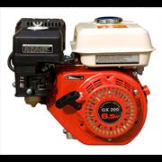 Двигатель бензиновый GX 200 RE с редуктором и электростартером вал 20 мм - фото 32689