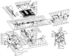 Пружина противохода пильного станка Энкор Корвет-11 (рис.9) - фото 33811