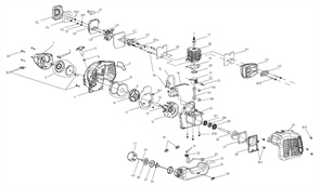 Топливный бак триммера Baumaster BT-8925X (рис 35) - фото 34005
