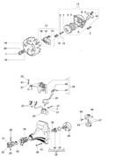Гайка маховика триммера Efco 8300 (рис. 1) - фото 34969