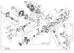 Топливный бак триммера MTD 1033 (рис. 82) - фото 36038