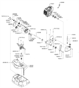 Корпус для редуктора аэратора Al-Co Comfort 38 VLB Combi-Care (рис.460288) - фото 36191