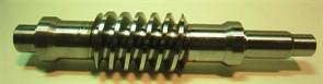 Червячный вал правого редуктора двухроторной затирочной машины Masalta MT836 - фото 36846