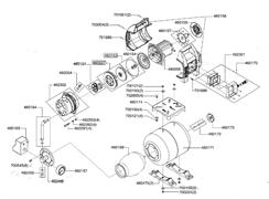 Крыльчатка электродвигателя насосной станции Al-Co HW 1001 Inox (рис.460157) - фото 36956