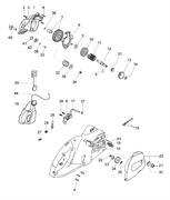 Шестерня ведущая в сборе электропилы Efco EF 2000 E (рис. 7) - фото 37320