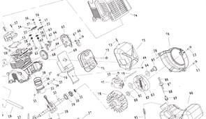 Шестерня распределительная двигателя триммера Калибр БК- 800/4М (рис. 68) - фото 37703