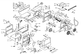 Ремень передачи станка комбинированного Энкор Корвет-24 (рис.44) - фото 42966