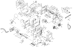 Болт станка комбинированного Энкор Корвет-26 (рис.168) - фото 43285