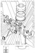 Винт М4х12 бетономешалки Elitech БС 180 (рис.36) - фото 43769