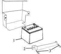 фланцевый болт М6Х12 \ BOLT, FLANGE, M6?12 бензогенератора Elitech БЭС 12000 Е (рис.3) - фото 44016