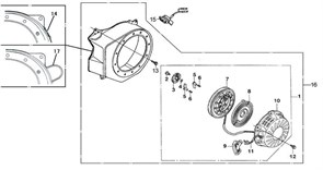 пружина фрикциона бензогенератора Elitech БЭС 1800 (рис.4) - фото 44250