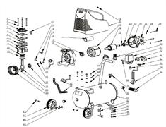 Шайба 6х18х1,5 железная безмасляного коаксильного компрессора ElitechКПБ 190/24 (рис.15) - фото 45892
