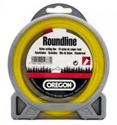 Леска Roundline D 1,6 мм L 15 м (круглая, желтая) - фото 49108