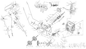 Шкив ведущий привода шнека снегоуборщика ЭНКОР МС 110-1 ЭЛ (рис.9)