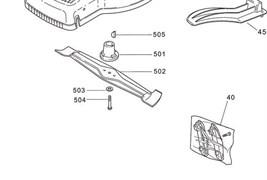 Нож газонокосилки Stiga TURBO 48 S Combi