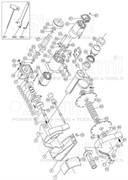 Корпус статора болгарки Sturm! AG915S (рис. 38)