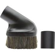 Универсальная щетка для пылесоса для уборки твердых поверхностей с натуральным длинным ворсом.