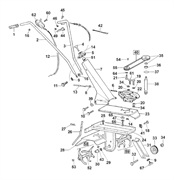 Фиксатор тросика сцепления культиватора Al-ko MH 350 LM (рис.8)