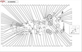 Рукоятка минимойки Elitech M1600РБ