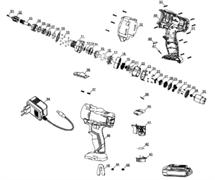 переключатель шуруповерта EINHELL TC-CD 18-2 LI (4513820) (рис.41)