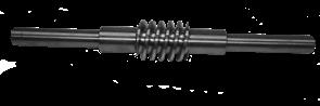 Червячный вал левый редуктора двухроторной затирочной машины Masalta MRT73