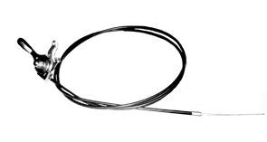 Трос дроссельной заслонки в сборе затирочной машины Tremmer СТ424