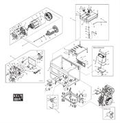 Панель управления в сборе генератора FUBAG DS 5000 ES №83