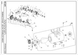 Саморез 3х18 T10 насосной станции Uragan GAPR-800-S (рис.24) - фото 71253