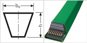 Ремень клиновой 4L 360 CONTI-V ROFLEX GARDEN
