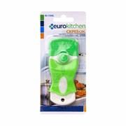 Скребок Eurokitchen для чистки стеклокерамики, белый/салатовый