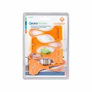Набор скребков Eurokitchen для чистки стеклокерамики, оранжевый