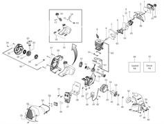 Рычаг воздушной заслонки триммера Husqvarna 125C (рис 4)